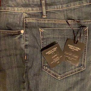 Simply Vera slimming stretch jeans